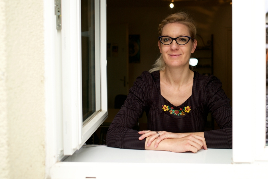 Fabienne Thommen ist Augenoptikerin und Visualtrainerin