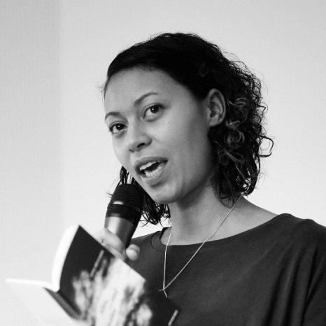 Amina Abdulkadir bei der Performance
